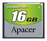 Фото флеш-карты Apacer CF 16GB 60X