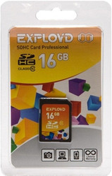 фото Карта памяти Карта памяти EXPLOYD SD SDHC 16GB Class 10