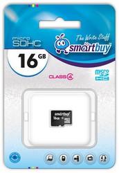 фото Карта памяти Карта памяти SmartBuy MicroSDHC 16GB Class 4