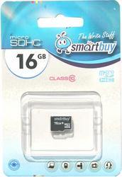 фото Карта памяти Карта памяти SmartBuy MicroSDHC 16GB Class 10