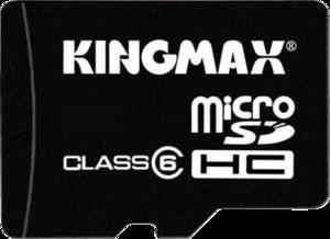 фото Карта памяти Карта памяти Kingmax MicroSDHC 16GB Class 6 + SD-адаптер