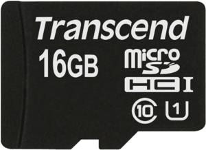 фото Карта памяти Карта памяти Transcend MicroSDHC 16GB Class 10 TS16GUSDCU1