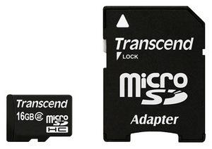 фото Карта памяти Карта памяти Transcend MicroSDHC 16GB Class 2 TS16GUSDHC2