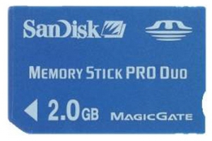 фото Карта памяти Карта памяти SanDisk Memory Stick PRO DUO 2GB