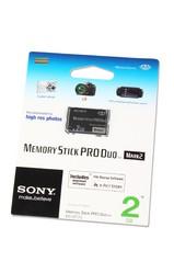 фото Карта памяти Карта памяти Sony Memory Stick PRO DUO 2GB Mark2 MS-MT2G/2NT