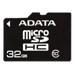 фото Карта памяти Карта памяти ADATA MicroSDHC 32GB Class 4
