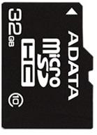 фото Карта памяти Карта памяти ADATA MicroSDHC 32GB Class 10 + SD adapter