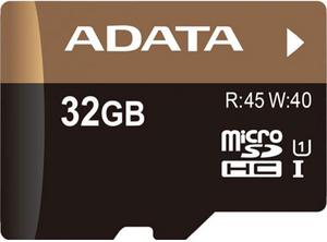 фото Карта памяти Карта памяти ADATA MicroSDHC 32GB Class 10 Premier Pro UHS-I U1 + SD adapter