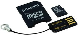 фото Карта памяти Карта памяти Kingston MicroSDHC 32GB Class 10 + USB-reader