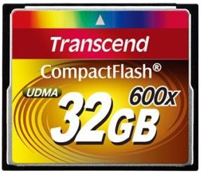 фото Карта памяти Карта памяти Transcend Compact Flash CF 32GB 600X