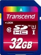 фото Карта памяти Карта памяти Transcend SD SDHC 32GB Class 10 USH-I