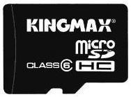 фото Карта памяти Карта памяти Kingmax MicroSDHC 32GB Class 6 + SD adapter