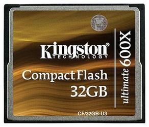 Фото флеш-карты Kingston CF 32GB 600x