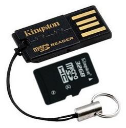 фото Карта памяти Карта памяти Kingston MicroSDHC 32GB Class 4 + USB Reader G2