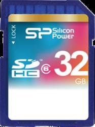 фото Карта памяти Карта памяти Silicon Power SD SDHC 32GB Class 6