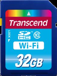 Фото флеш-карты Transcend SD SDHC 32GB Class 10 Wi-Fi
