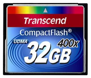 фото Карта памяти Карта памяти Transcend Compact Flash CF 32GB 400X