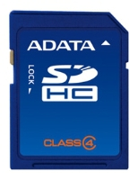 фото Карта памяти Карта памяти ADATA SD SDHC 4GB Class 4