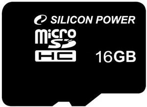 фото Карта памяти Карта памяти Silicon Power MicroSDHC 4GB Class 10