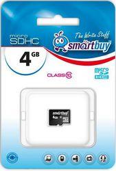 Фото флеш-карты SmartBuy MicroSDHC 4GB Class 10