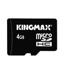 фото Карта памяти Карта памяти Kingmax MicroSDHC 4GB Class 10 + SD adapter