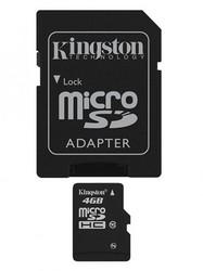 фото Карта памяти Карта памяти Kingston SD SDHC 4GB Class 10