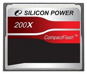 фото Карта памяти Карта памяти Silicon Power Compact Flash CF 4GB 200X