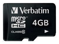 Verbatim MicroSDHC 4GB Class 10 SotMarket.ru 320.000