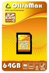 фото Карта памяти Карта памяти OltraMax SD SDXC 64GB Class 10