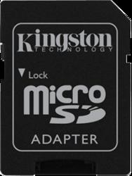 фото Карта памяти Карта памяти Kingston MicroSDHC 8GB Class 10 SDC10/8GB + SD адаптер