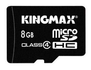 фото Карта памяти Карта памяти Kingmax MicroSDHC 8GB Class 4 + USB Reader