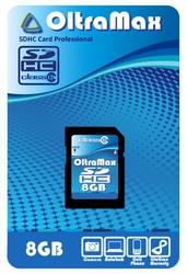 Фото флеш-карты OltraMax SD SDHC 8GB Class 6