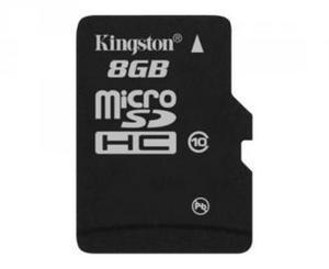 фото Карта памяти Карта памяти Kingston MicroSDHC 8GB Class 10