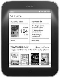 фото Электронная книга Barnes&Noble Nook Simple Touch with GlowLight