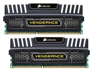 фото Оперативная память Corsair CMZ16GX3M2A1600C10 DDR3 Kit 2x8GB DIMM Vengeance