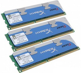 фото Оперативная память Kingston KHX1800C9D3K3/3GX DDR3 3GB DIMM