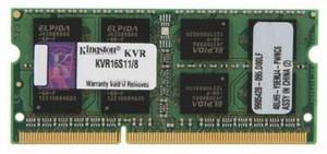 фото Оперативная память Kingston KVR16S11/8 DDR3 8GB SO-DIMM