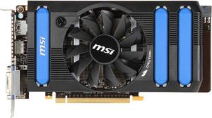 фото Видеокарта MSI GeForce GTX 650 Ti N650Ti-2GD5/OC BE PCI-E 3.0