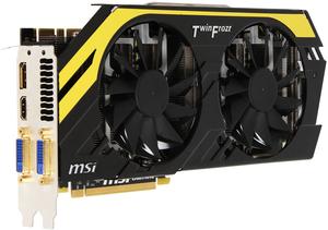 фото Видеокарта MSI GeForce GTX 770 Lightning PCI-E 3.0