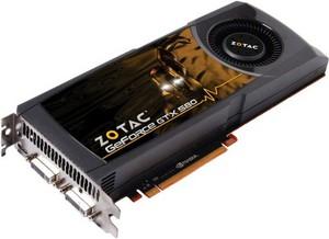 фото Видеокарта ZOTAC GeForce GTX 580 ZT-50105-10P PCI-E