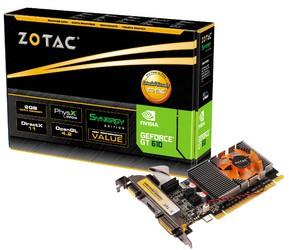 фото Видеокарта ZOTAC GeForce GT 610 ZT-60601-10L PCI-E