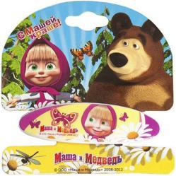 Заколки для волос Маша и Медведь В ромашках 331039 SotMarket.ru 150.000