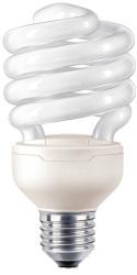 Фото энергосберегающей лампы Philips Tornado spiral 23W E27