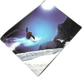 Фото чехла для зачётки Эврика N10 Сноубордист