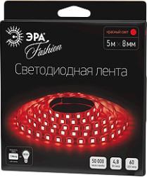 фото Светодиодная лента ЭРА LS3528-60LED-IP20-R красная, 3528, 60 LED, 12V, IP20