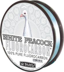 фото Леска BALSAX White Peacock Fluorocarbon 30м 0.12мм монофильная