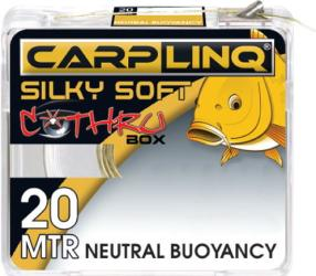 фото Леска CARP LINQ Silky Soft Neutral Buoyancy 20м 40lbs Dark Brown плетеная