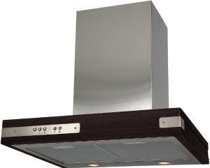 Фото кухонной вытяжки ELIKOR Патио 60 нержавеющая сталь/дуб венге