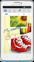 фото Мобильный телефон Alcatel One Touch Scribe Easy 8000D