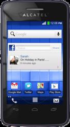 фото Мобильный телефон Alcatel One Touch TPop 4010D